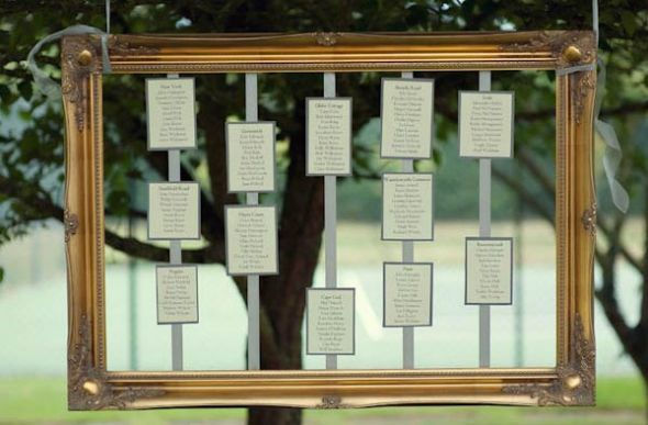 table plan board ideas